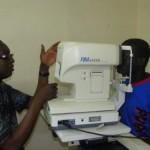 Oogtest in Banjul  - 14 als resultaat