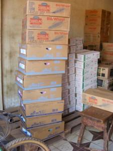 partij babymelk gekocht in Banjul